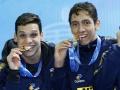 Revezamento brasileiro conquista medalha de ouro no Mundial de Natação