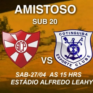 Penedense Sub-20 fará jogo amistoso no sábado, contra o Cotinguiba