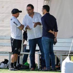 Jogadores do Atlético Mineiro estão insatisfeitos com os atrasos de salários