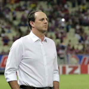 Técnico Rogério Ceni diz ser difícil vir a dirigir Corinthians ou Palmeiras