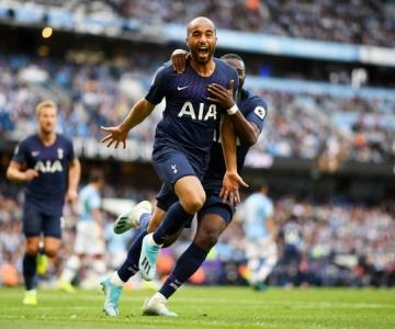 VAR anula gol de Gabriel Jesus e Manchester City empata com o Tottenham