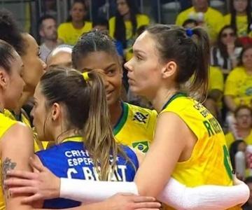Vôlei: Pensando no Mundial, Brasil supera a Argentina com facilidade