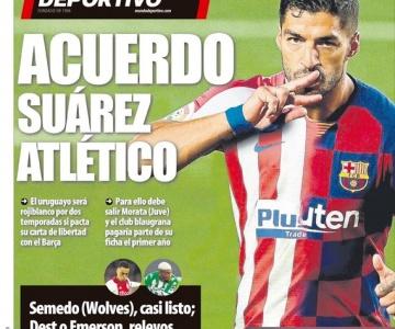 Atlético de Madrid anuncia atacante Luiz Suárez como seu novo reforço