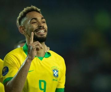 Gabriel Jesus foi cortado da Seleção e jovem Matheus Cunha está convocado