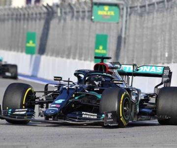 Lewis Hamilton fez a sua 96ª pole e largará na frente no GP da Rússia