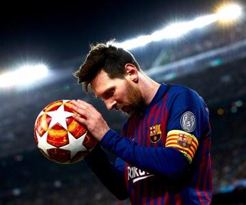 Lionel Messi foi escolhido o melhor jogador do mês passado, na Espanha
