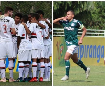 Palmeiras e São Paulo vão decidir a edição 2018 da Copa RS Sub-20
