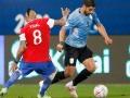 Após perder da Argentina, Uruguai apenas consegue empatar com o Chile
