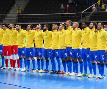 Brasil e Argentina se enfrentarão nas semifinais da Copa do Mundo de Futsal